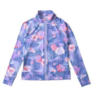ラッシュガード レディース HeleiWaho ヘレイワホ 長袖 ジップアップ フードなし UPF50+ で UVカット と 大きいサイズ で 体型カバー|aqrosnetshop|25