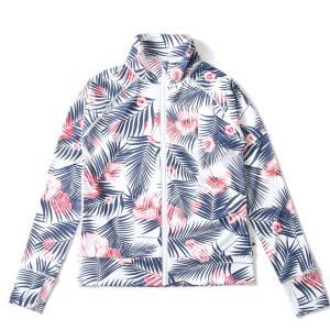 ラッシュガード レディース HeleiWaho ヘレイワホ 長袖 ジップアップ フードなし UPF50+ で UVカット と 大きいサイズ で 体型カバー|aqrosnetshop|24