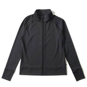 ラッシュガード レディース HeleiWaho ヘレイワホ 長袖 ジップアップ フードなし UPF50+ で UVカット と 大きいサイズ で 体型カバー|aqrosnetshop|19