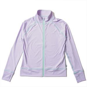 ラッシュガード レディース HeleiWaho ヘレイワホ 長袖 ジップアップ フードなし UPF50+ で UVカット と 大きいサイズ で 体型カバー|aqrosnetshop|22