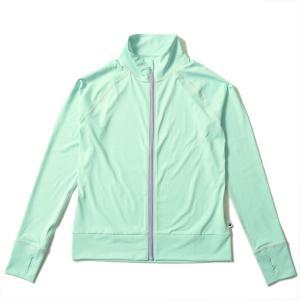 ラッシュガード レディース HeleiWaho ヘレイワホ 長袖 ジップアップ フードなし UPF50+ で UVカット と 大きいサイズ で 体型カバー|aqrosnetshop|21