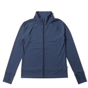 ラッシュガード レディース HeleiWaho ヘレイワホ 長袖 ジップアップ フードなし UPF50+ で UVカット と 大きいサイズ で 体型カバー|aqrosnetshop|20