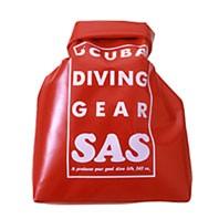 濡れたウエットスーツの持運びに『ウォータープルーフバッグ』