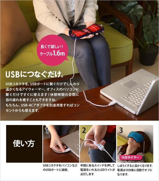 USBポートに繋ぐだけで使えます