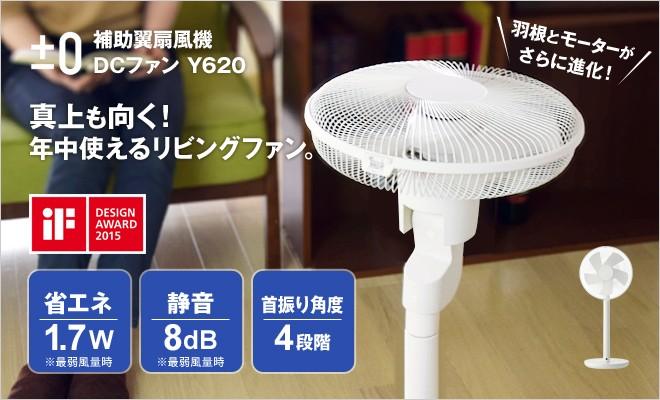 ±0 補助翼扇風機 DCファン Y620