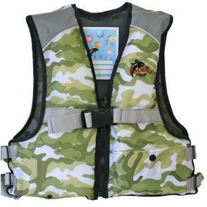 ジュニアフローティングベスト FV-6116n ファインジャパン 川遊び・水遊び・釣り用 ライフジャケット|aquabeach2|11