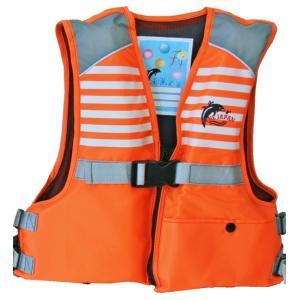 ジュニアフローティングベスト FV-6116n ファインジャパン 川遊び・水遊び・釣り用 ライフジャケット|aquabeach2|07