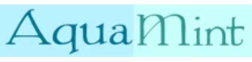 AquaMintヤフーショップ ロゴ