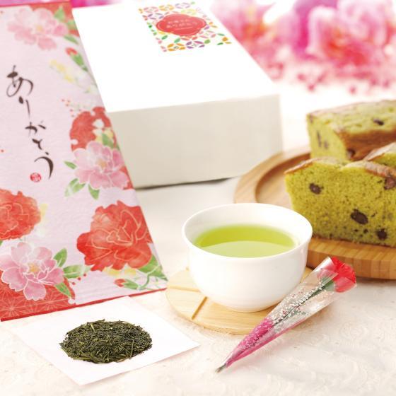 母の日 2021 ギフト プレゼント スイーツ 新茶 お茶 和菓子 4種から選べる母の日ギフト 送料無料 arahata 24