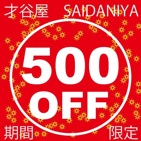 全品対応500円OFFクーポン