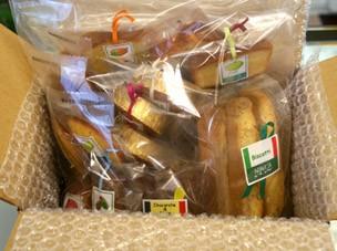 季節の和歌山産フルーツを焼き込んだ焼き菓