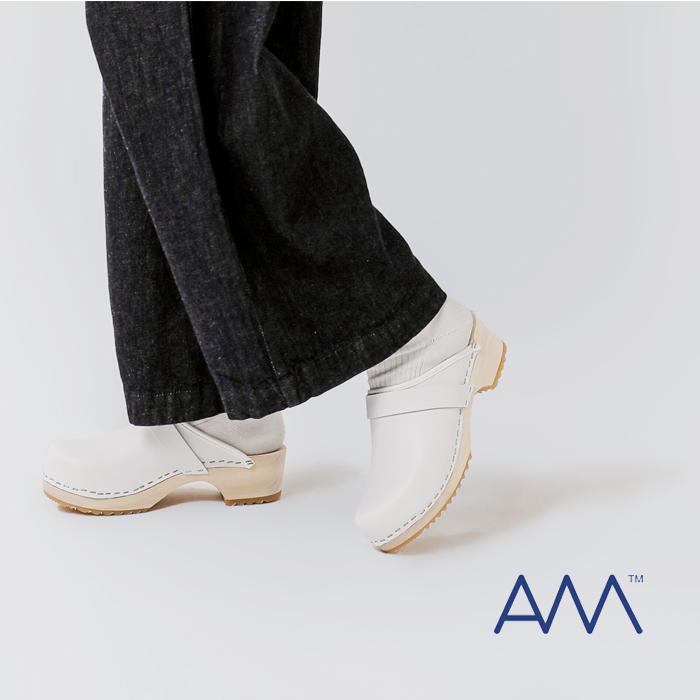 AMTOFFELN(AMトッフェルン)レザーサボ100-woman