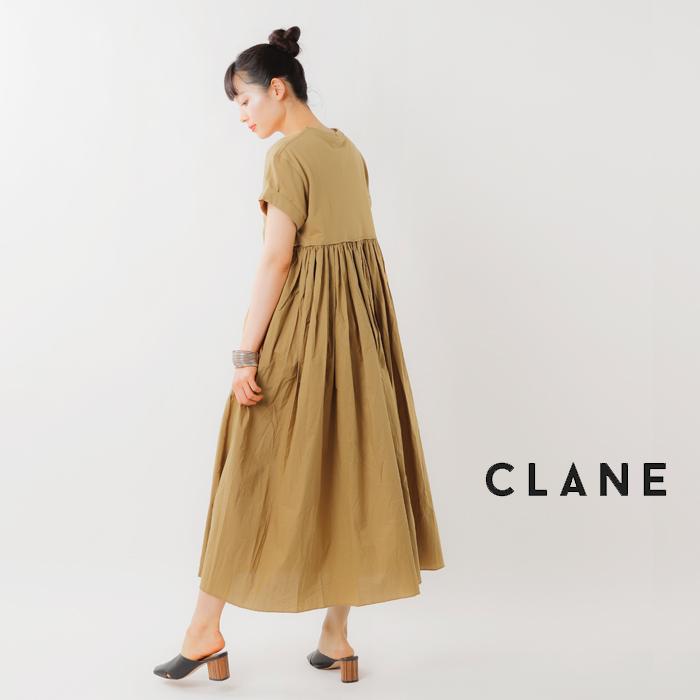 CLANE(クラネ)バックフリルワンピース 10112-5122