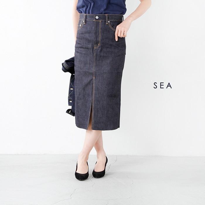 SEA(シー)VINTAGE595オリジナルセルヴィッチデニムスカート110116105