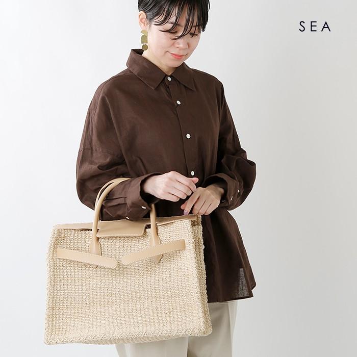 SEA(シー)アバカかごバッグL110520126