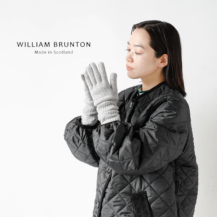 WILLIAM BRUNTON(ウィリアムブラントン)ロングリブカシミヤカフグローブ 131