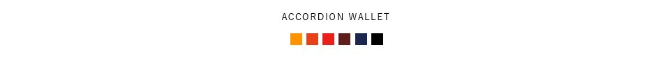 Arts&Craftsレザーアコーディオンウォレット accordionwallet