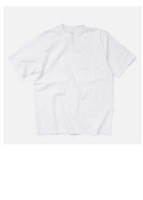 "graphpaper天竺コットンクルーネックポケットTシャツ""S/S Crew Neck Pocket Tee"" gu181-70063b"