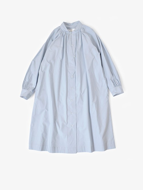 Si-Si-Siコットン100%ネックギャザーチュニックシャツ