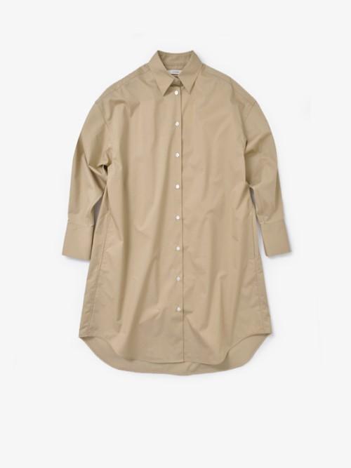 CINOHタックスリーブシャツドレス