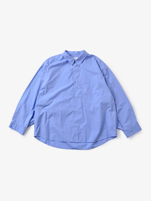 "graphpaperオーバーサイズビックアームシャツ""Original Typewriter Big Sleeve Shirt"" gu181-50037"