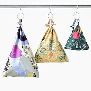 manipuri(マニプリ) グラフィックスカーフバッグ Graphic scarf bag