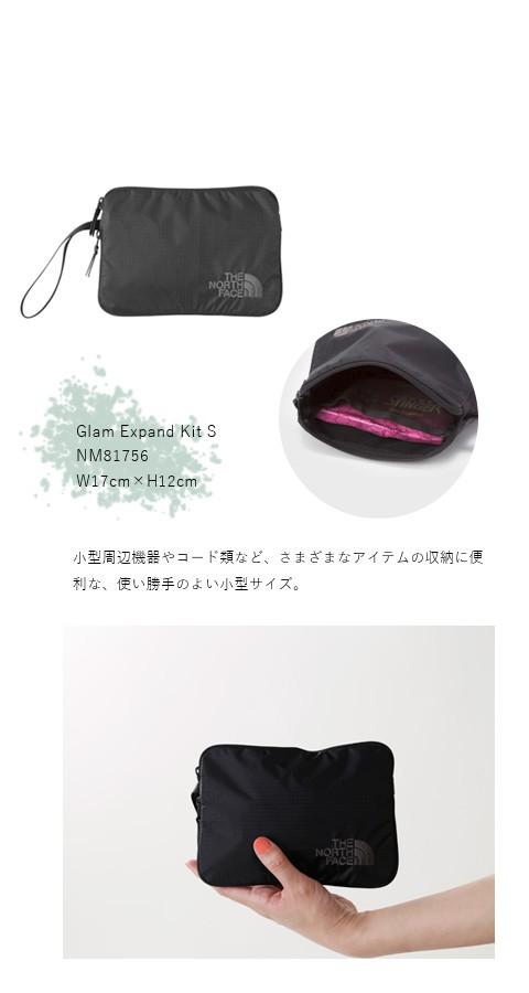 """THE NORTH FACE(ノースフェイス)<br>グラムエクスパンドキットポーチS""""Glam Expand Kit S"""" nm81756"""