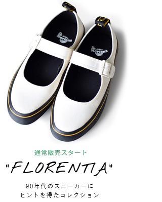 """Dr.Martensキャンバスストラップシューズ""""FLORENTIA"""" florentia"""