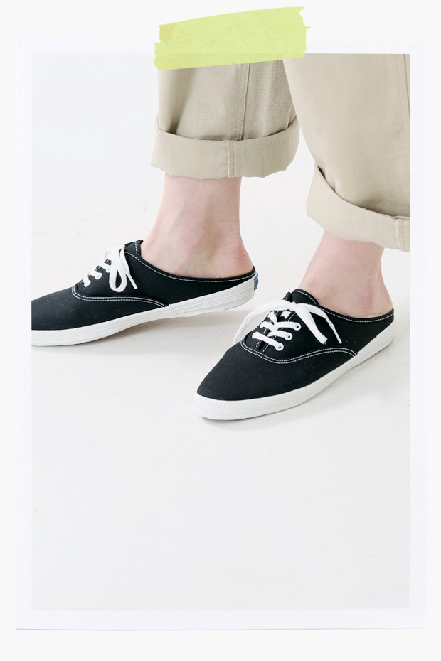 """Keds(ケッズ) キャンバスレースアップスニーカー""""MOXIE MULE"""" 841"""