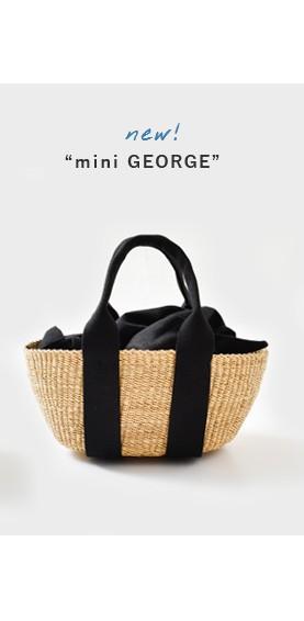 """MUUN(ムーニュ)<br>2wayエレファントグラス ミニカゴバッグ""""mini GEORGE"""" mini-george"""
