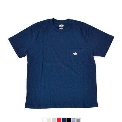 DANTON(ダントン) 天竺コットンポケットTシャツ jd-9041