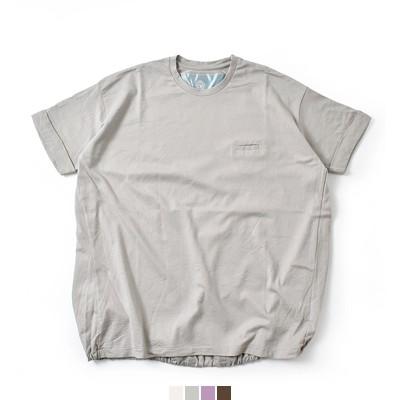 Dulcamara(ドゥルカマラ) 40/2天竺コットンバルーンTシャツ d118-t900