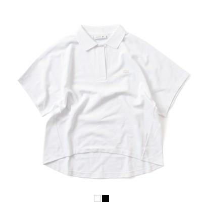 LACOSTE(ラコステ) コットンルーズフィット半袖ポロシャツ pf070el