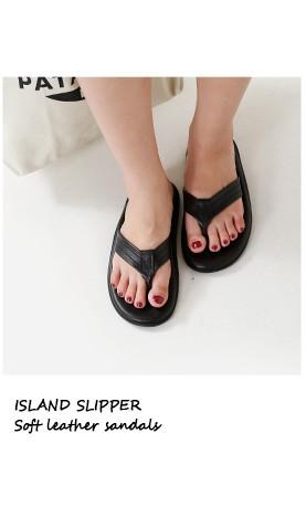 ISLAND SLIPPER(アイランドスリッパ)<br>ソフトレザーサンダル pt202-pb202