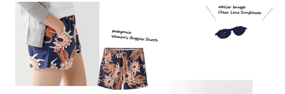 "patagonia(パタゴニア)<br>ウィメンズ バギーズショーツ""W's Baggies Shorts"" 57058"