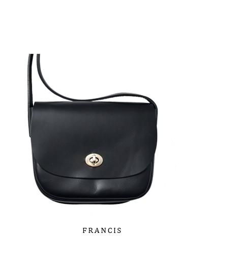 """Mimi(ミミ)<br>ベジタブルタンニングレザーショルダーバッグ""""FRANCIS"""" francis.html"""