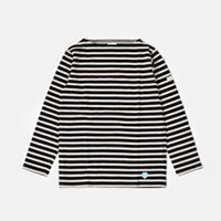 ORCIVAL(オーチバル・オーシバル) コットン100%長袖バスクシャツ b211