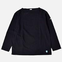 ORCIVAL(オーチバル・オーシバル) コットン100%長袖バスクビッグシャツ b211clw