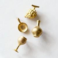PROOF OF GUILD(プルーフオブギルド) プチブラスピンブローチ petitbrasspins