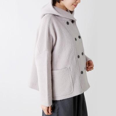 mao made(マオメイド)<br>圧縮ウールフードジャケット 831127