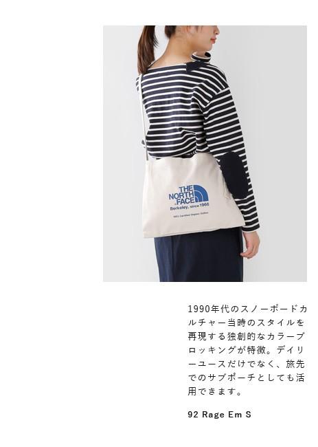 "THE NORTH FACE(ノースフェイス)<br>オーガニックコットンミュゼットバッグ""Musette Bag"" nm81765"
