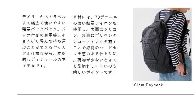 """THE NORTH FACE(ノースフェイス)<br>パッカブルグラムデイパック""""Glam Daypack"""" nm81751"""