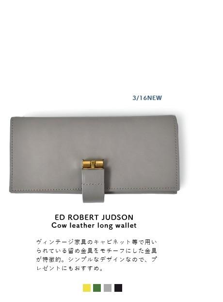 """ED ROBERT JUDSON(エド ロバート ジャドソン)<br>カウレザーロングウォレット""""LAYTON"""" b01fwl-19"""