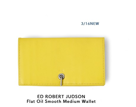 ED ROBERT JUDSON(エド ロバート ジャドソン)<br>フラットオイルスムースカウレザーミディアムウォレット b01fwl-25