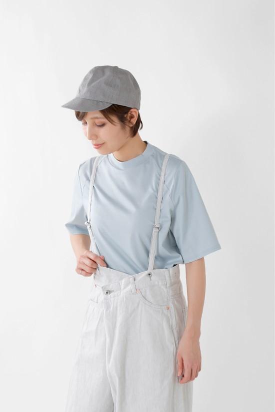OLTA DESIGNS(オルタデザインズ) コットンラグランハーフスリーブTシャツ 01915243o