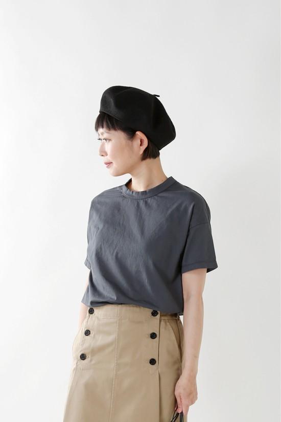 RINEN(リネン) 60/2天竺コットン半袖ワイドTシャツ 11903