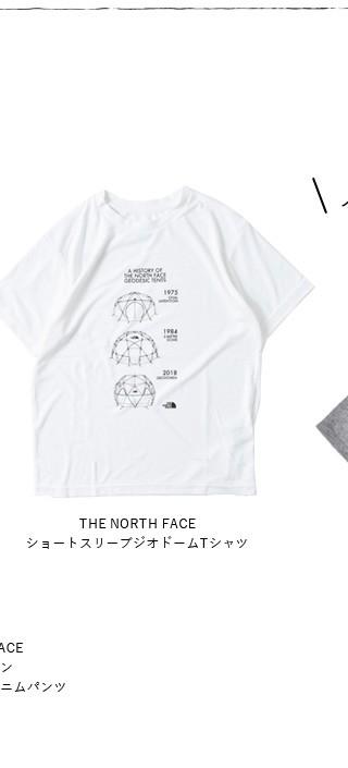 THE NORTH FACE(ノースフェイス)<br>ショートスリーブジオドームTシャツ nt31938
