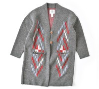 """CANADIAN SWEATER(カナディアンセーター) ネイティブ柄ロングガウン""""Navojo/Feater GOWN"""" j1901n-f"""