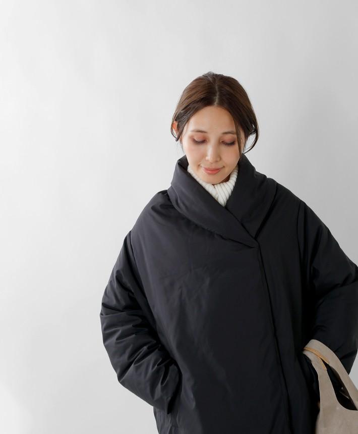mizuiro-ind(ミズイロインド) ドレープダウンコート 3-278560