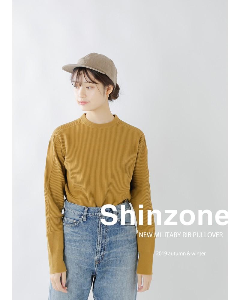 Shinzone(シンゾーン)ニューミリタリーリブプルオーバー 19amscu16